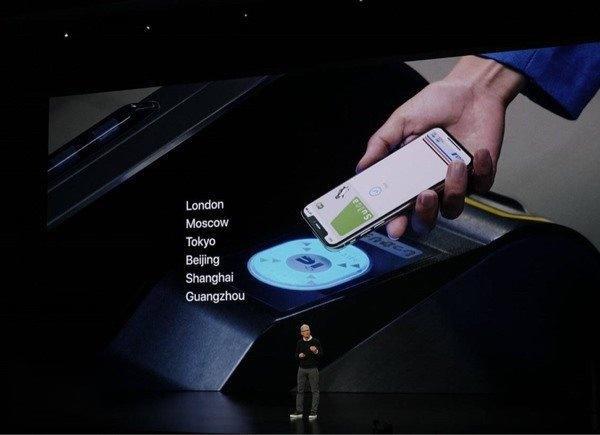 Apple Pay宣布支持广州交通卡