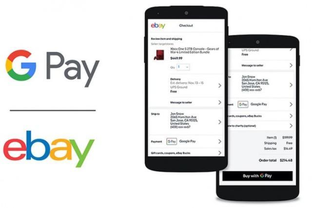 4月上旬生效:eBay引入Google Pay支付方案