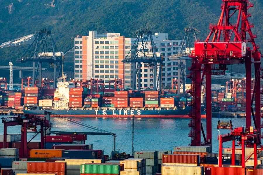 供应链,货运码头,数字金融,供应链金融,金融科技,区块链,产业数字化