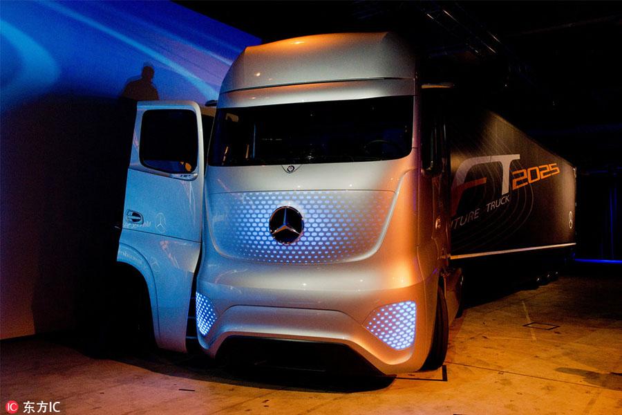 自动驾驶、智慧卡车,自动驾驶,物流配送,物流+自动驾驶