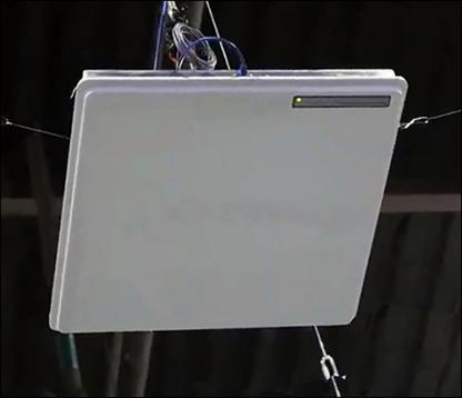 新型RTLS阅读器具有可操纵的阵列天线特性