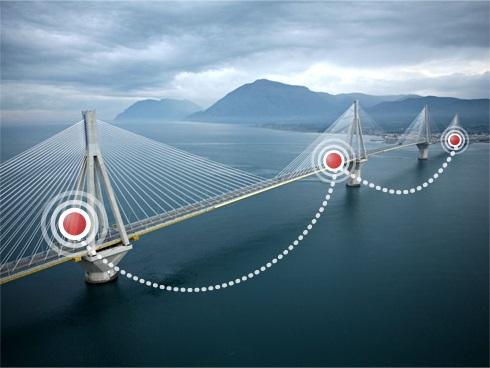 """工程师利用数据传感器建设""""智能""""纪念大桥"""