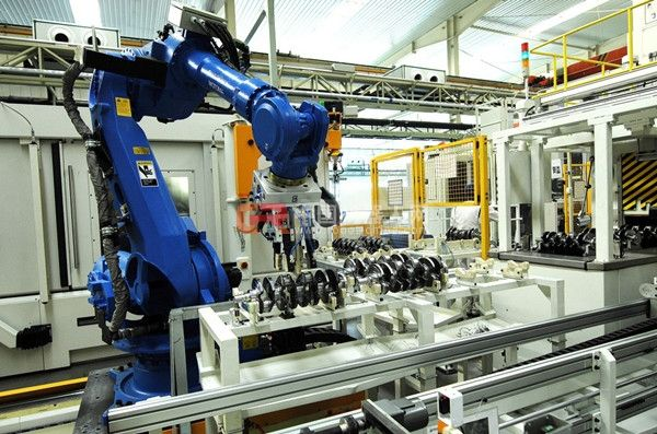RFID机械手生产框架