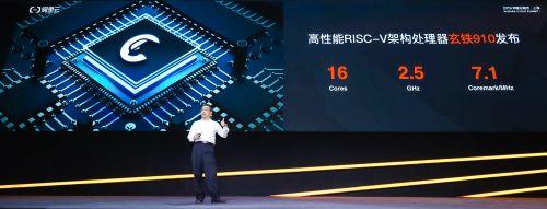 阿里平头哥首颗芯片玄铁910出炉,可应用于5G和AI