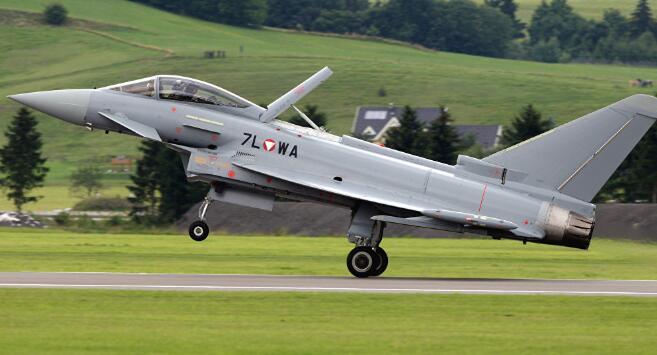 媒体称英国将升级台风战斗机的重要传感器