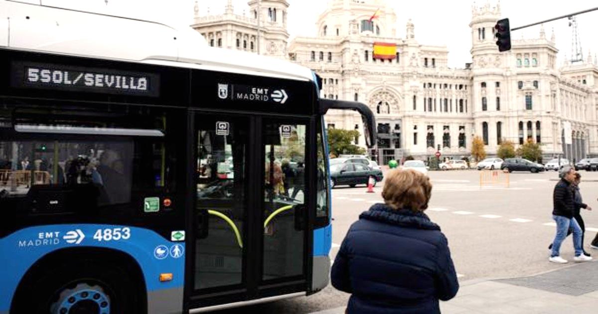 """马德里市政综合支付平台""""EMTPay""""支持公交移动支付"""