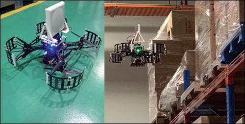 亚洲两个仓库顺利完成RFID无人机仓库盘点测试