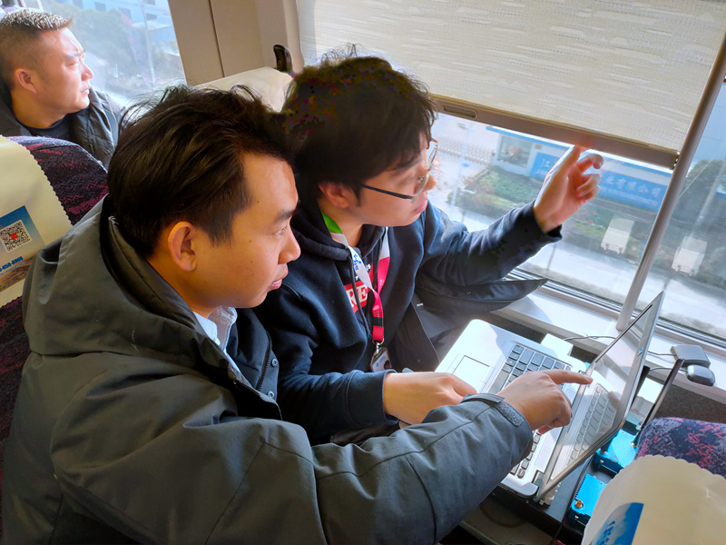 南通到通州段的高铁5G调测