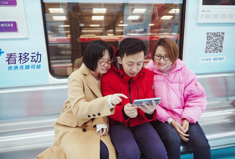 无锡地铁内已实现5G网络全覆盖