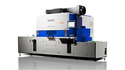 爱普生演示新的UV数字标签印刷机