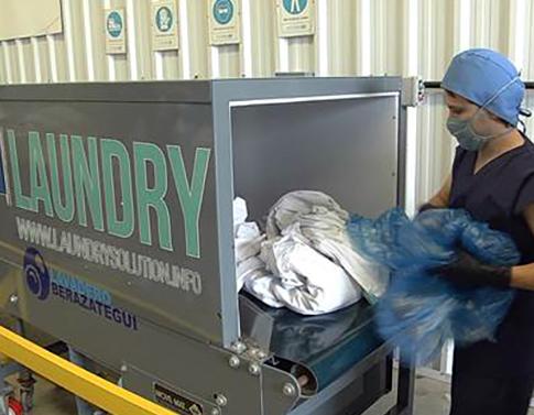 阿根廷医院通过RFID防止被服污染并提高盘点效率