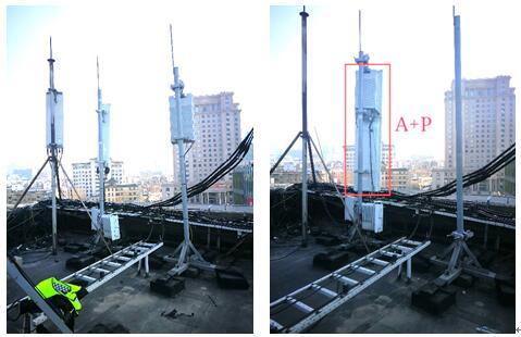 山东联通携手华为部署省内首个A+P楼顶站,实现全频段收编