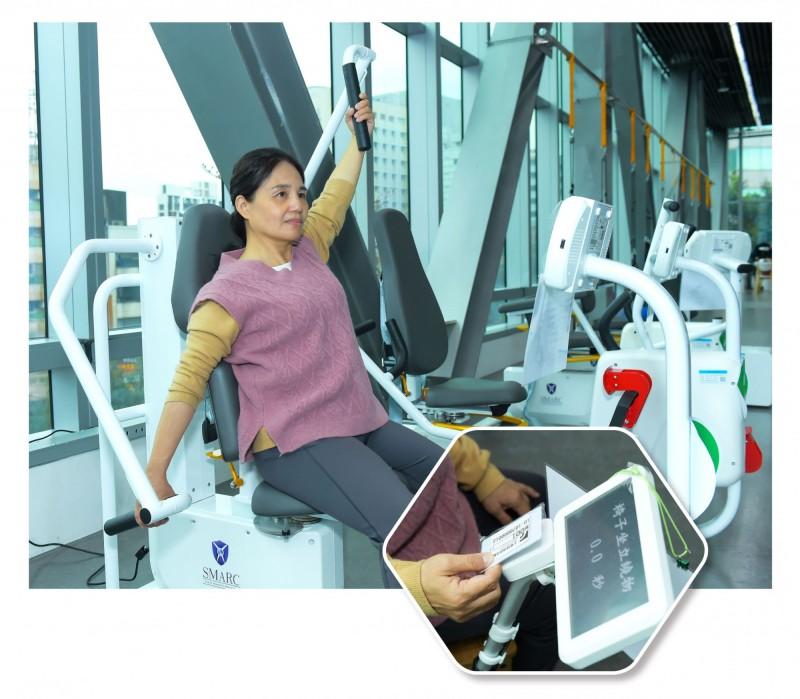 工研院设置自动量测的体适能设备  RFID卡可自动汇整数据至系统