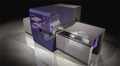 柯尼卡美能达新的B2+喷墨印刷机瞄准单张标签市场