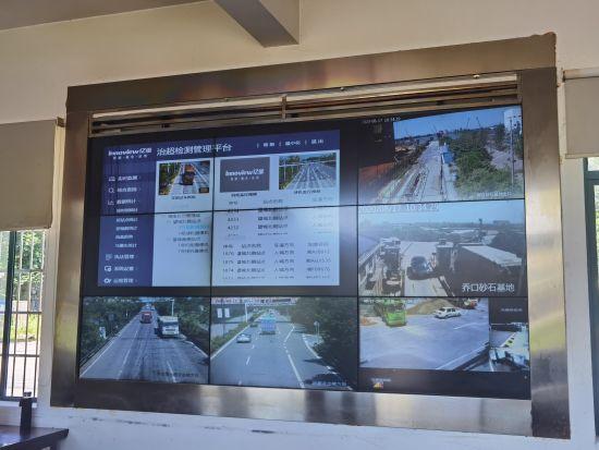 望城区打造智慧交通治理超载。 望城宣传部 供图