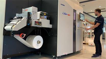 网屏公司开始远程演示其新的SAI标签印刷机