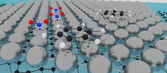 瑞典科学家利用单原子薄铂金制备化学传感器
