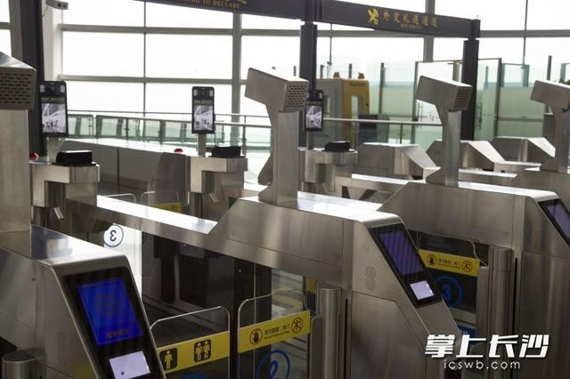 """长沙航空口岸通关能力改造提升 黄花机场实现""""智慧旅检"""""""