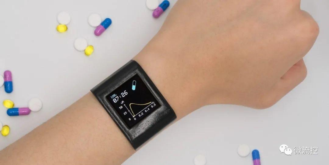 美研究人员基于电化学传感器研发监测药物浓度的可穿戴手表