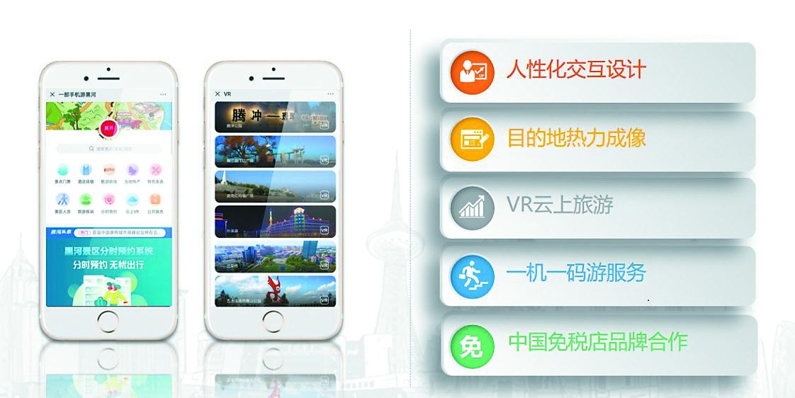 """黑龙江引入旅游大数据监管服务平台 上线""""一部手机游黑河"""""""