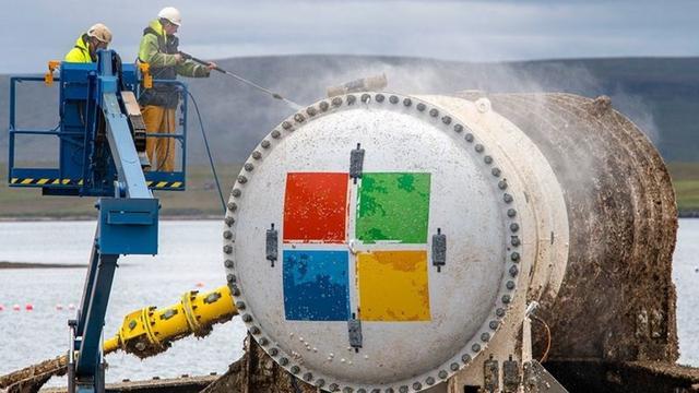 微软初步验证水下数据中心可行